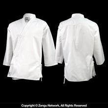 7 oz. White Lightweight Karate Jacket